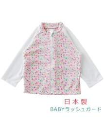 chuckleBABY/水遊び長袖ラッシュガード小花柄/502355040