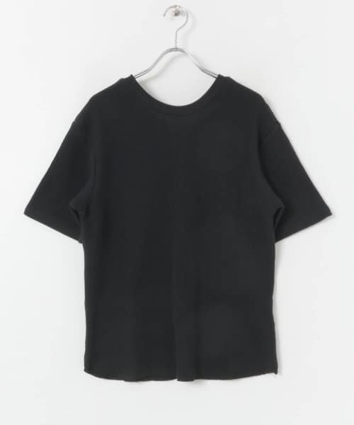 SENSE OF PLACE(センスオブプレイス)/2WAYワッフルビッグTシャツ(半袖)/AA95-21A184