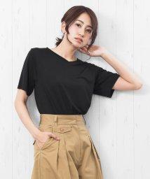 mili an deni/レディース トップス 抗菌 NANOFINE Vネック 半袖 Tシャツ/502355185