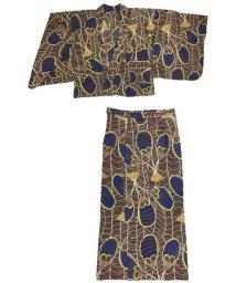 CAYHANE/【チャイハネ】アフリカン柄セパレート浴衣 IAC-9218/502355494