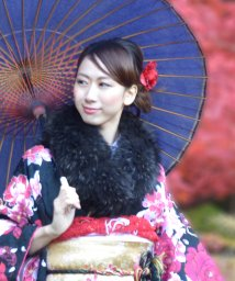 sankyoshokai/ラクーン ファーマフラー 毛皮/502356010
