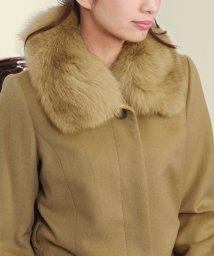 sankyoshokai/つけ襟 フォックス 取付用カラー 付け襟 付け衿 付け衿 コート用付け襟リアルファー/502356042