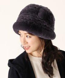 sankyoshokai/レッキスファー 帽子 リボンデザイン 編み込み / レディース/502356156