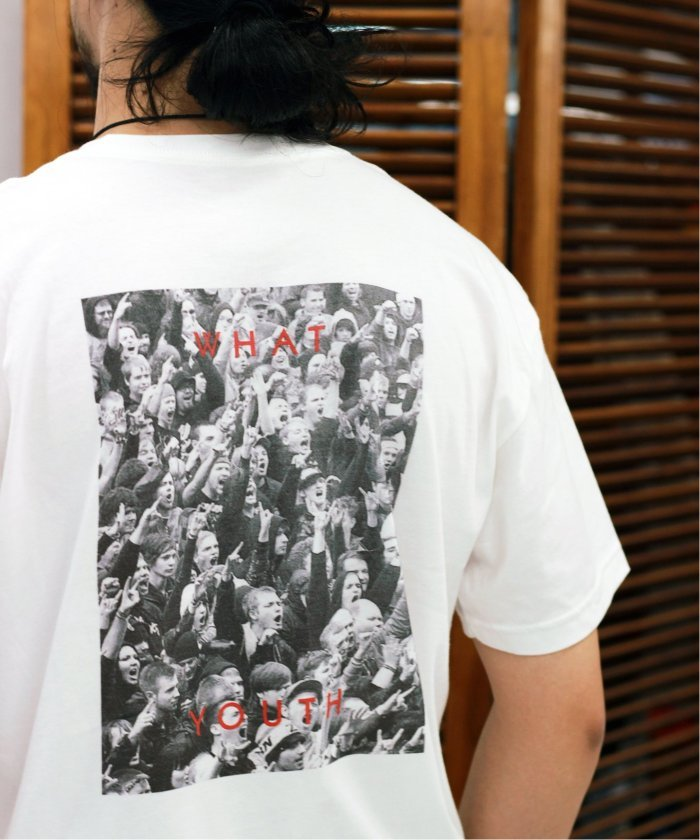 WHAT YOUTH  / ワットユース : Salute Tee / Tシャツ