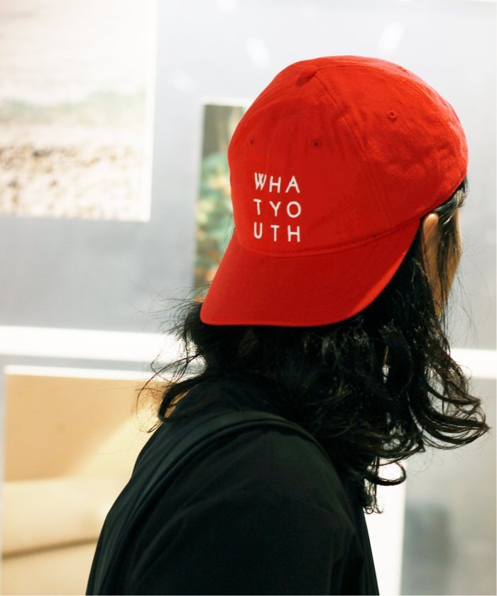 WHAT YOUTH  / ワットユース : STACK−6PANEL/キャップ