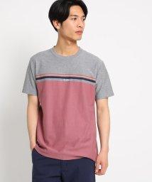 THE SHOP TK/ジャガードマルチボーダーTシャツ/502356328