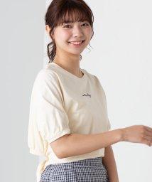 WEGO/バックオープンリボンTシャツ/502087572