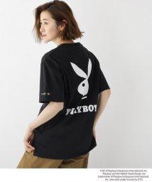 BASECONTROL/コラボ別注 PLAYBOY プレイボーイ ポケット 半袖 Tシャツ/502277881