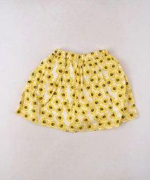 SLAP SLIP/リップルひまわりプリントスカートパンツ/502279448