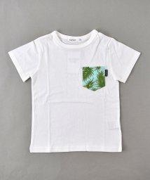 SLAP SLIP/天竺アロハ柄ポケット付きTシャツ/502279450