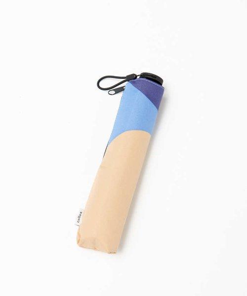 collex(collex)/【KiU×collex 】【晴雨兼用】エアライト折りたたみ傘/60380143002