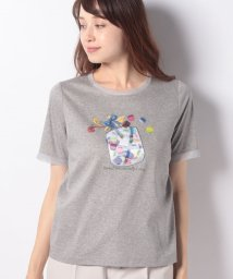 Leilian/【特別提供品】マカロン3DプリントモチーフTシャツ/502346261