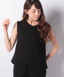 MELROSE Claire/【セットアップ対応商品】爽やかワッフル素材ノースリーブプルオーバー/502348226