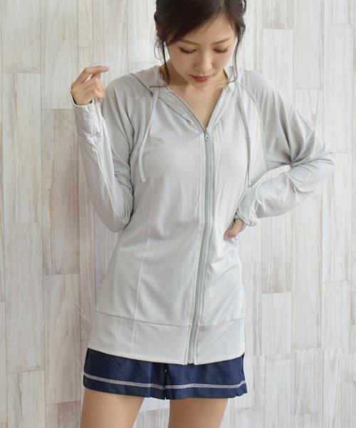 felt maglietta(フェルトマリエッタ)/薄手サラサラ素材で着るだけでUV対策ラッシュガード/h052