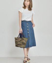 felt maglietta/オールシーズンお洒落映えするデザインのタイトミモレ丈スカート/502354915
