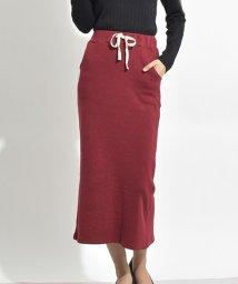 felt maglietta/細リブで華奢見えタイトスリットスカート/502354916