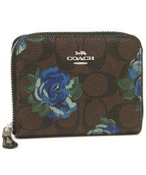 COACH/コーチ 折財布 アウトレット レディース COACH F38704 SVN2R ブラウン ブラックマルチ/502355563
