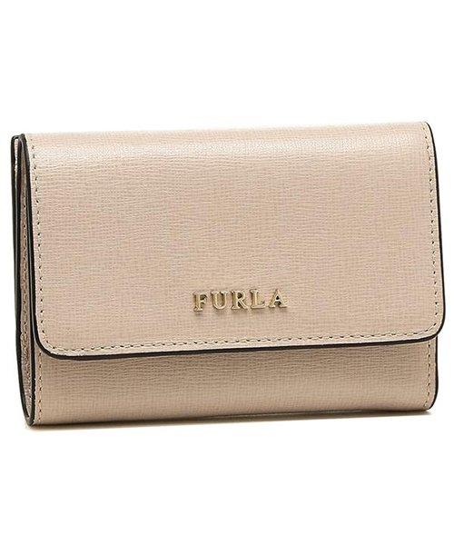 FURLA(フルラ)/フルラ 折財布 レディース FURLA 992591 PR76 B30 TUK ベージュ/fu992591