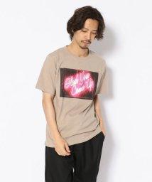 LHP/MADDICT/マディクト/ルーズシルエット ネオンプリントTシャツ/502356570