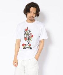LHP/MADDICT/マディクト/ルーズシルエット スカルプリントTシャツ/502356571