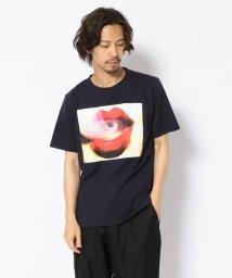 LHP/MADDICT/マディクト/ルーズシルエット 唇プリントTシャツ/502356572