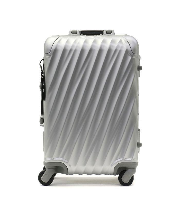 ギャレリア トゥミ TUMI 19 DEGREE ALUMINUM インターナショナル・キャリーオン スーツケース 32L 36860 ユニセックス シルバー F 【GALLERIA】