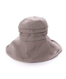 VitaFelice/ヴィータフェリーチェ VitaFelice つば広帽子 マスク焼け防止 UV対策 レディースつば広ハット キャペリンハット コットンハット 紫外線対策 アウトド/502358362