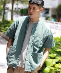 JOURNAL STANDARD relume Men's/UTILITY POCKET ノーカラービッグシャツ/502358420