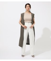 AZUL by moussy/COTTON LINEN GILLET/502359028