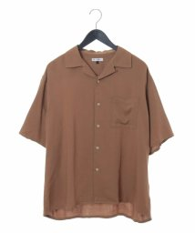 a.v.v (MEN)/レーヨンアサオープンカラーシャツ/502247638
