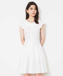 Tara Jarmon/コットンデザインドレス 【洗える】/502359435