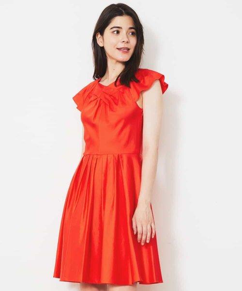 Tara Jarmon(タラ ジャーモン)/【リゾート特集】コットンデザインドレス IMPORTED/VZEGD43460