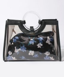 rienda(BAG)/【rienda】VINYL FLOWER PRINT MINI TOTE/502346526