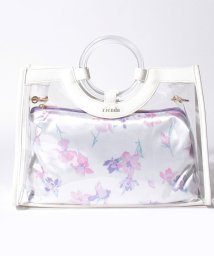rienda(BAG)/【rienda】VINYL FLOWER PRINT MINI TOTE/502346526