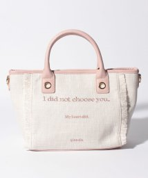 rienda(BAG)/【rienda】MESSAGE TWEED MINI TOTE/502346531