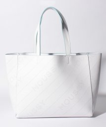 MOUSSY(BAG)/【MOUSSY】LOGO PUNCHING TOTE L/502346534
