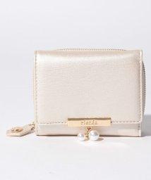rienda(BAG)/【rienda】PEARL THREE FOLD FLAP WALLET/502346546