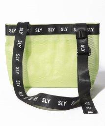 SLY(BAG)/【SLY】LOGO MESH SHOULDER/502346547