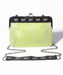 SLY(BAG)/【SLY】LOGO MESH ガマ口SHOULDER/502346548