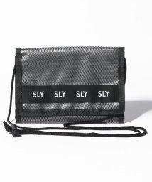 SLY(BAG)/【SLY】LOGO MESH スマホWALLET SHOULDER/502346549