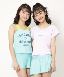 Lovetoxic/カレッジロゴワンピース水着【SWIM】/502348304