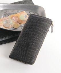 sankyoshokai/グラデーションクロコダイルレザー長財布/502358078