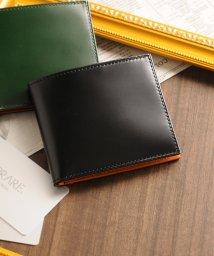 PRAIRIE/[PRAIRIE]日本製二つ折り財布コードバンレザー両カードタイプ/502360622