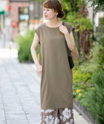 URBAN RESEARCH Sonny Label/フレンチスリーブコクーンワンピース/502360862