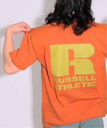 JOURNAL STANDARD/【WEB限定】RUSSELL×JS / ラッセル別注 : BACK LOGO-T/502361018
