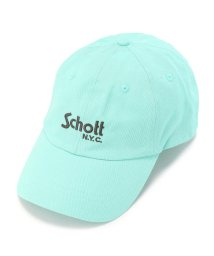 UNCUT BOUND/COTTON TWILL CAP BASIC LOGO  コットンツイルベーシックキャップ/Schott(ショット)/501920118
