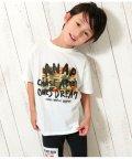 ANAP KIDS/手書きロゴ迷彩BIGTシャツ/502344466