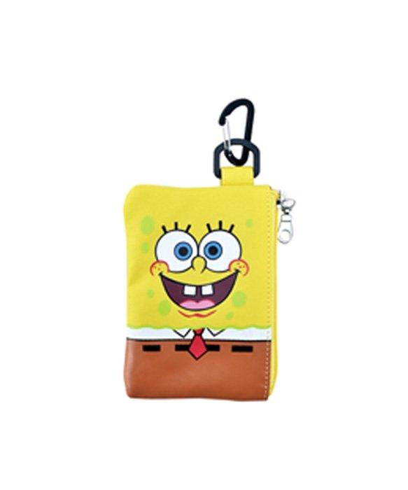 Spongebob スポンジボブ パスケース カードケース パスポーチ ICケース