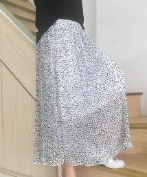 miniministore/プリーツスカート レディース レオパード柄 ロングスカート シフォン ミモレ丈スカート 即納/502362211