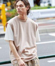 JUNRed/ライトカノコベストTシャツSET/502362431